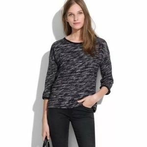 Madewell Marled Shadetree Pullover Sweater Top